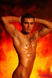 Sexy Man on Fire