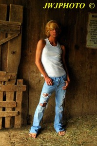 barn wall holie jeans