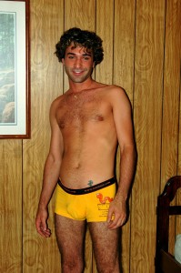 yellow underwear