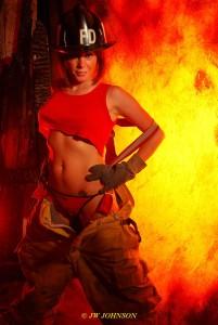Bunker Babe Fireside