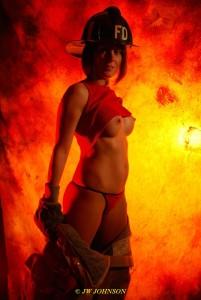 Bunker Babe Fireside Heats Up