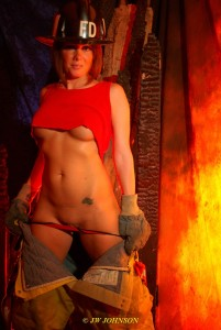Bunker Babe Fireside Stripper 2