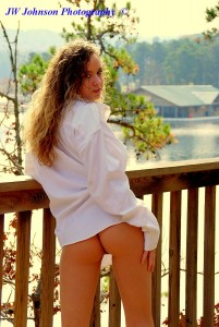 Cabin Deck Babe Flirts 3