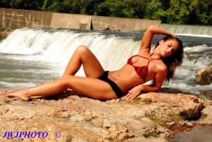 Gorgeous Waterfall Babe