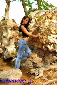 Hot Jeans Flirt