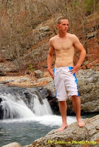 Hottie At the Falls