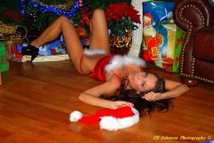 Santa Hat Babe