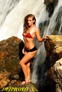 Sexy Waterfall Babe 2