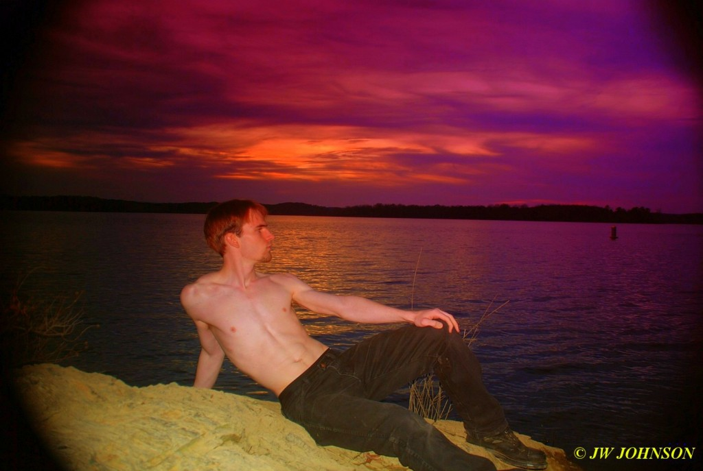 Sunset Hottie Art