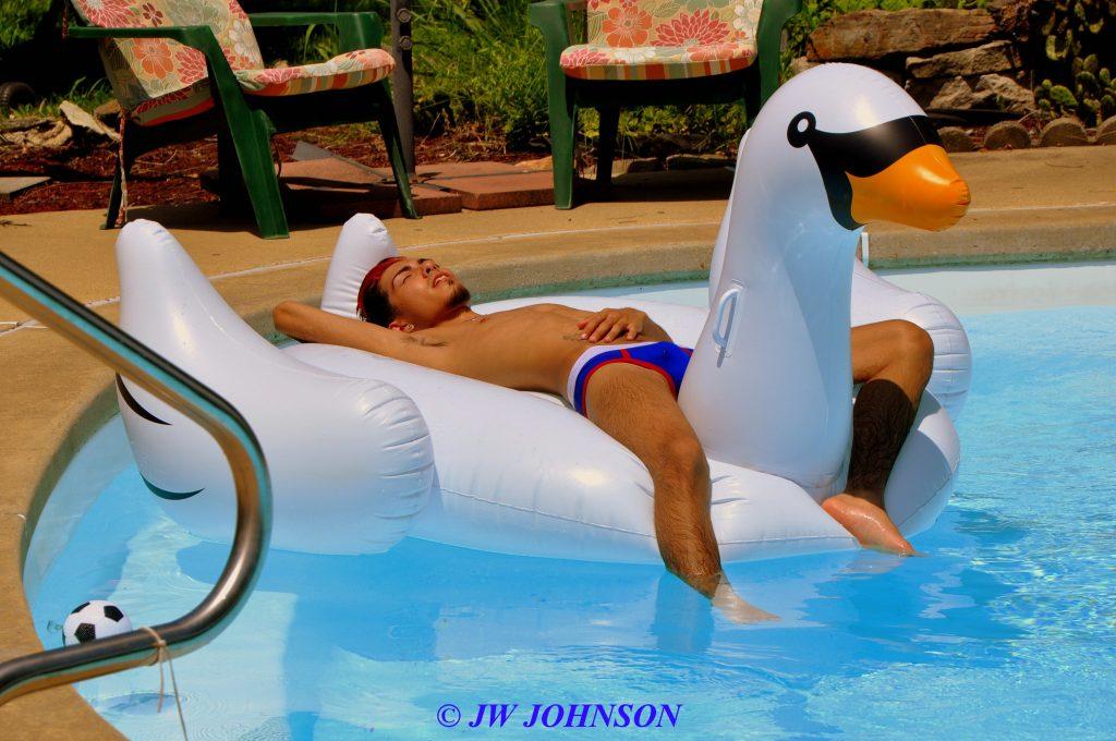 Carlos on Swan 3